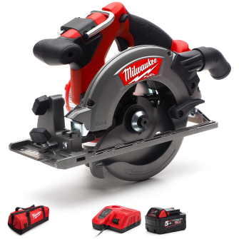 Milwaukee M18CCS55-501 FUEL 165mm Circular Saw 1 x 5.0Ah
