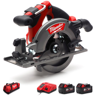 Milwaukee M18 CCS55-502c FUEL 165mm Circular Saw 2 x 5.0Ah