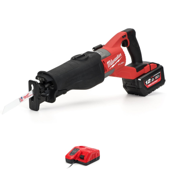 Milwaukee M18FSX-121X Fuel Super Sawzall with 12.0Ah Battery