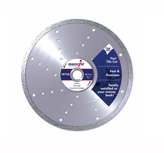 Marcrist CK750 Diamond Tile Blades Fast Cut