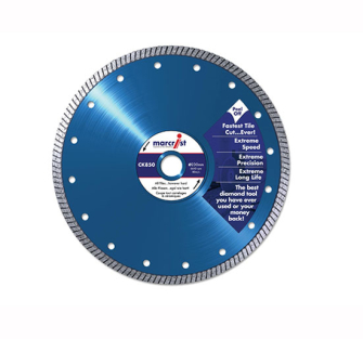 Marcrist CK850 Tile Cutting Blades Natural Diamond - Fast Cut