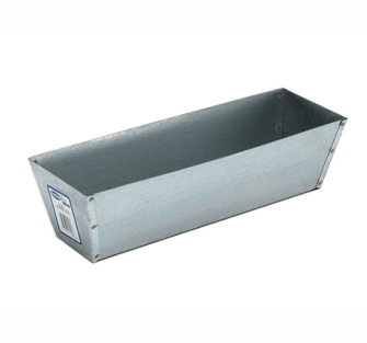 Marshalltown M813 Galvanised Plaster Pan 12in - M813 Drywall Tool