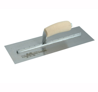 Marshalltown MxS Cement Trowels Wooden Handle - 16 x 4in Wooden H