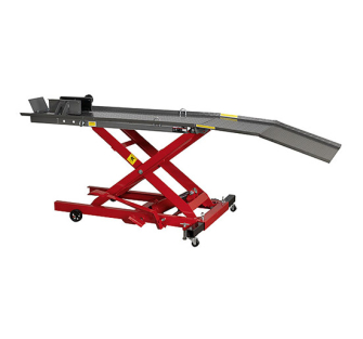 Sealey MC365 Motorcycle Lift 365kg Capacity Hydraulic