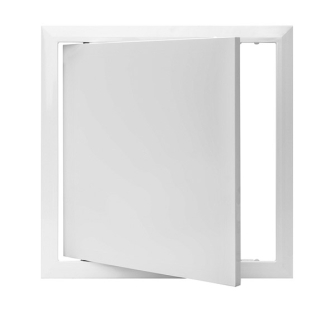 Value Plastic Access Panel - Hinged - 150 x 150mm - 10 Panel Pack