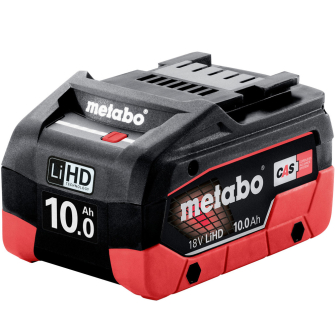 Metabo 625549000 18V 10.0Ah LiHD Battery - 625549000