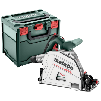 Metabo KT18LTX66BL 18V 165mm Plunge Cut Circular Saw Bare Unit with MetaBOX - 601866840
