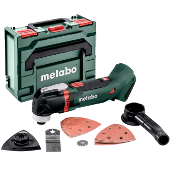 Metabo MT18LTX 18v Multi Tool - Bare Unit with MetaBOX and attachments - 613021840