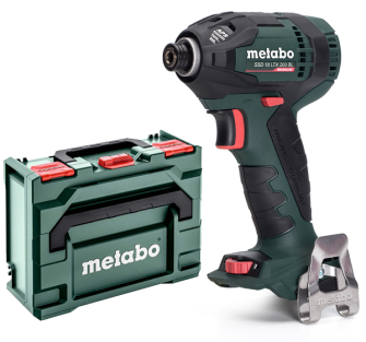 Metabo SSD18LTX200BL 18v 1/4in Impact Driver - Bare Unit - with MetaBOX - 602196840