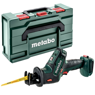 Metabo SSE18LTXC Recip One Handed Compact Bare Unit with MetaBOX - 602266840