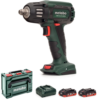 Metabo SSW18LTX400BL-402 18v 1/2in Brushless Impact Wrench 2 x 4.