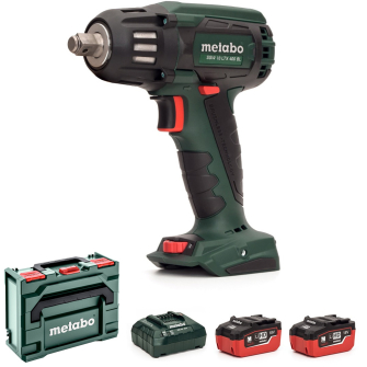 Metabo SSW18LTX400BL-502 18v 1/2in Brushless Impact Wrench 2 x 5.