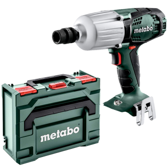 Metabo SSW18LTX600 18v 1/2in Impact Wrench Bare Unit and MetaBOX - 602198840