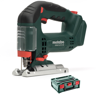 Metabo STAB18LTX100 Cordless Jigsaw - Bare Unit - with MetaBOX - 601003840