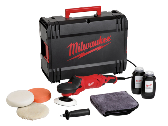 Milwaukee AP 14-2 200ESET 200mm Polisher Set - 1450 Watt 240 Volt