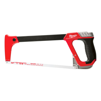 Milwaukee 48220050 Hacksaw 305mm 12in Metal Frame with Blade Storage