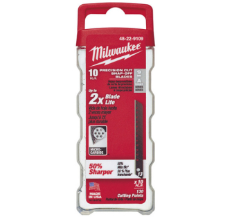 Milwaukee Snap Off Blades Pack of 10 - Various Sizes