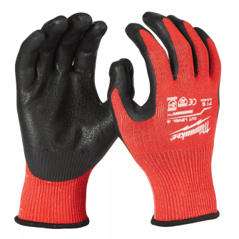 Milwaukee Cut Resistant Level 3 Dipped Gloves