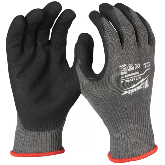 Milwaukee Cut Resistant Level 5 Dipped Gloves