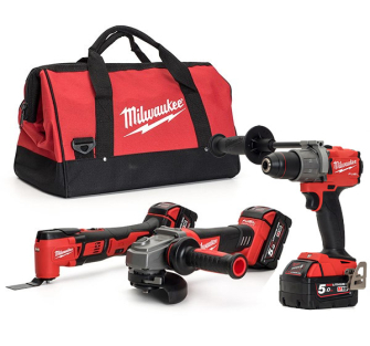 Milwaukee M18FPP3D-502B Thunderbolt kit - FPD, BMT, CAG
