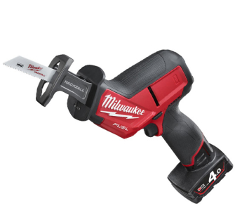 Milwaukee M12CHZ-402c Fuel Recip Saw 12v 2 x 4ah batteries - M12CHZ-402c