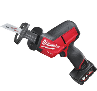 Milwaukee M12CHZ-602X Fuel Recip Saw 12v 2 x 6ah batteries - M12CHZ-602X