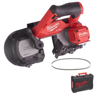 Milwaukee M12FBS64-0C M12 Fuel 64mm Band Saw - Bare Unit with Case