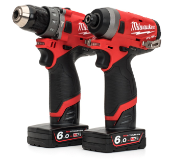 Milwaukee M12FPP2A-602X Fuel Twin Pack 12 Volt - 2x 6ah - M12FPP2A-602X