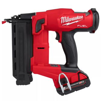 Milwaukee M18FN18GS-202X 18V Fuel 18GS Finish Nailer Kit 2 X 2.0Ah Batteries