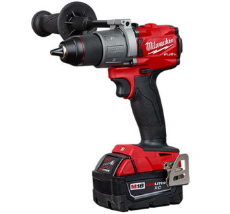 """Milwaukee M18FPD2-402C 1/2"""" Fuel Percussion Drill with 2 X 4.0Ah"""