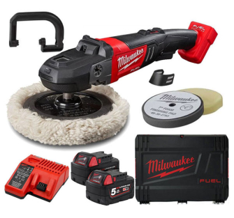 Milwaukee M18FAP180-502X M18 Fuel 18v 2 x 5.0ah Li-ion 180mm Poli
