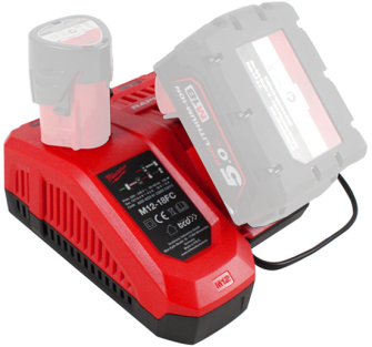 Milwaukee M12-18FC Rapid Charger for M12 & M18 Batteries