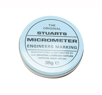 Miscellaneous Tin of Micrometer Blue - Micrometer Blue