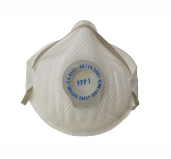 Moldex Classic Series FFP1 NR D Valved Mask (Pack 20) - Pack of 2
