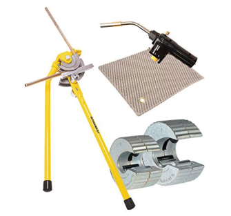 Monument Tools Bundle - Brazing Pad & Torch plus Pipe Cutters & B
