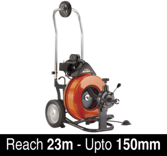General Wire Metro Rooter Drain Cleaning Machine - 110 Volt