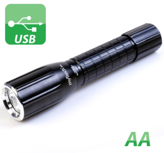 MyTorch AA Battery Powered Professional LED Torch - AA