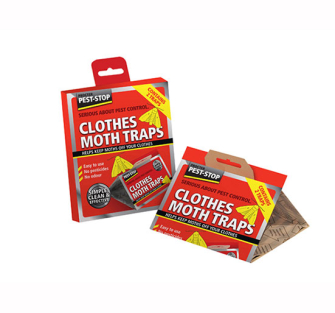 Pest-Stop Clothes Moth Trap - Pack of 2