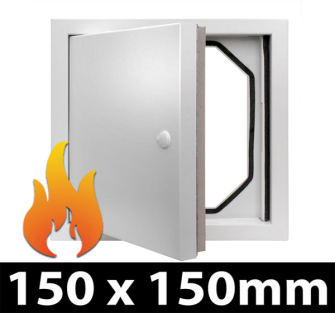 Fire Rated Access Panel - 150x150mm PF  - 5 Panel Pack