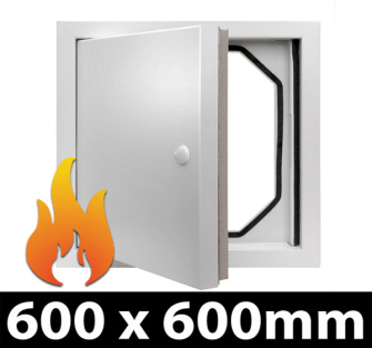 Fire Rated Access Panel - 600x600mm PF - 5 Panel Pack
