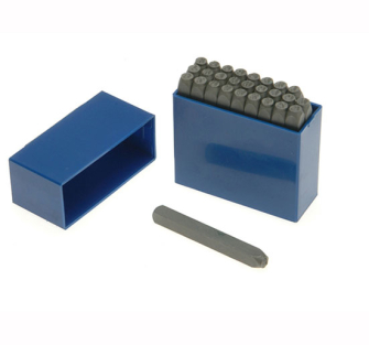 Priory Letter Punches - 2.5mm 3/32in