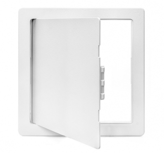 Plastic Access Panel - Hinged (Med + ) 454 x 454mm - 20 Pack - Save 20%