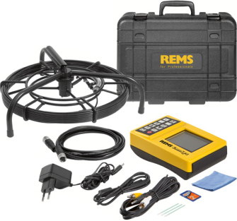Rems CamSys S-Color 30H Drain Inspection Camera 175010