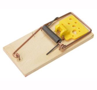 Rentokil Wooden Mouse Traps Twin Pack - Twin Pack
