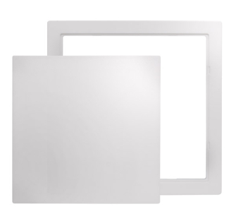Plastic Access Panel - Reversible 300 X 300mm - Single Panel