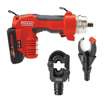 Ridgid 43628 RE 60 Electrical Tool Kit - With 2 Heads 43628
