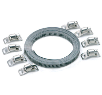 Rolson 60899 Hose Clamp kit 3m Metal Band - SEL60899