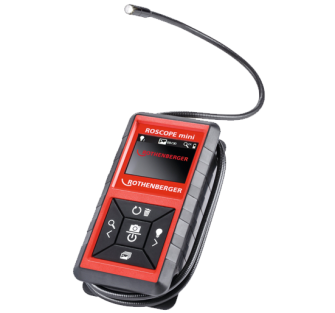 Rothenberger 0.2268 Roscope Mini Inspection Camera - 1.2m Waterpr