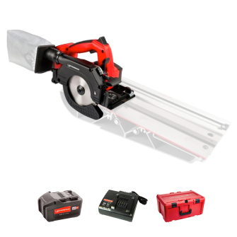Rothenberger 1000003420 Cordless 18V Pipecut Mini - Kit with Battery and Charger