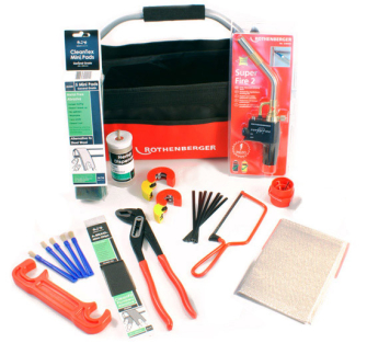 ROTHENBERGER Deluxe Plumber's HOT BAG